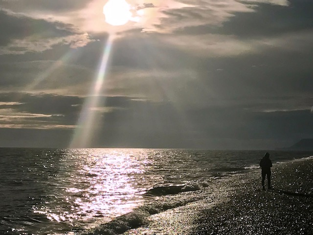 Beach Sunset Homer Alaska