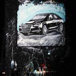 Brian Olsen Painting Audi Korea
