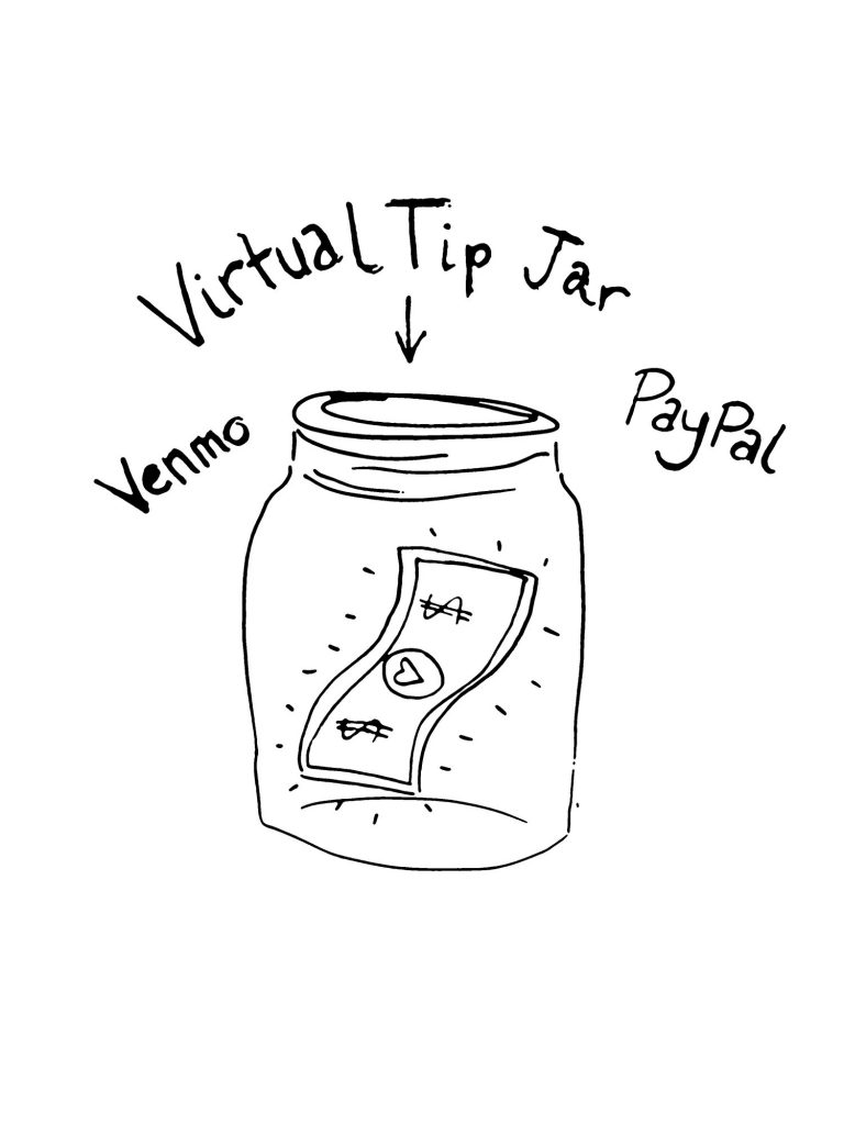 Virtual Tip Jar from FrontCountry Band